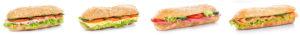 different sub sandwiches